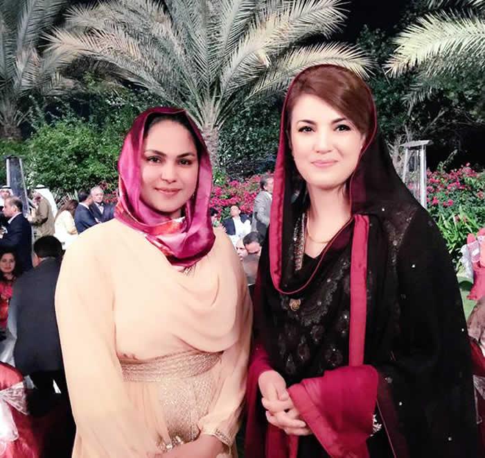 Veena Malik and Reham Khan