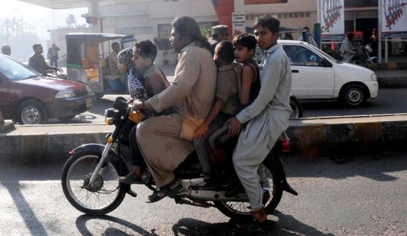pillion-riding in city