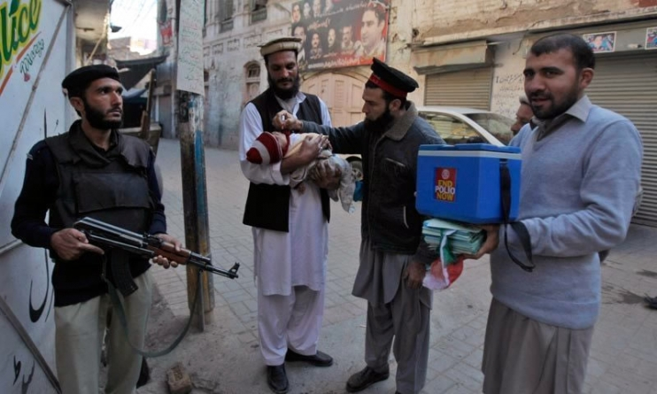 Workers Threaten to Boycott Polio Campaign