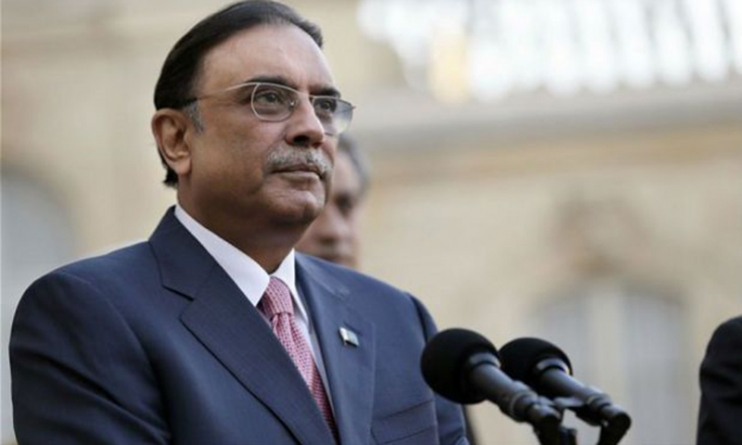 Zardari Supports Establishment Of Military Courts