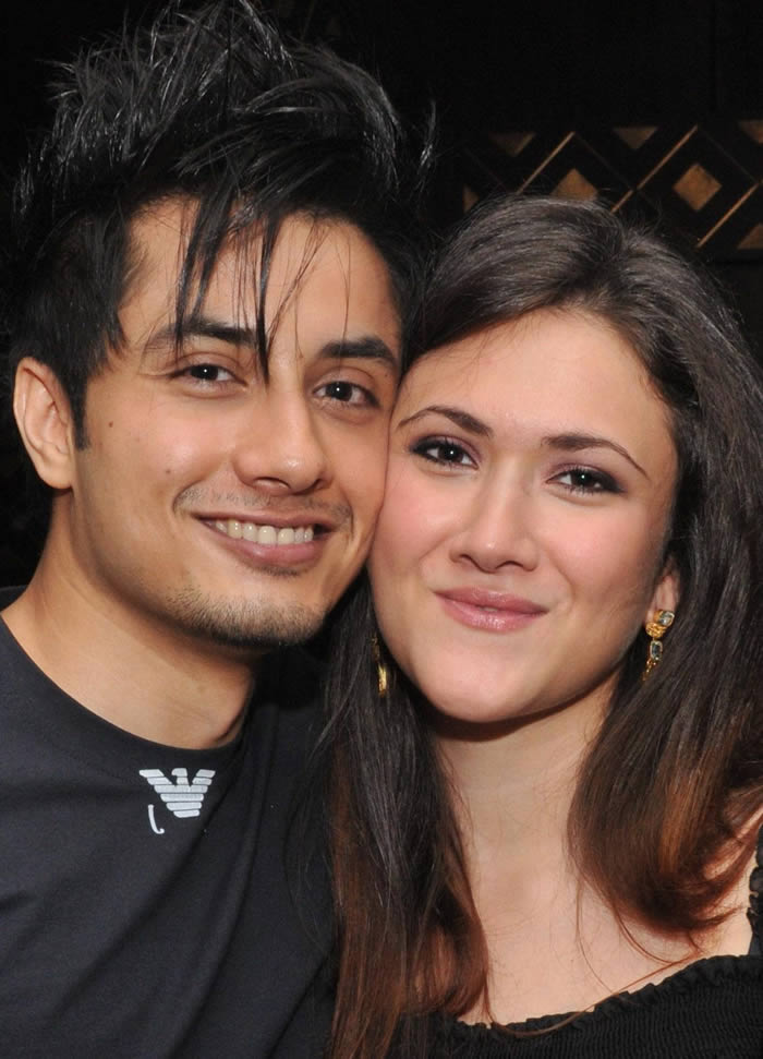 ali zafar and ayesha fazli