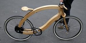 Take a Spin on a Wooden e-Bike