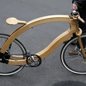 Take a Spin on a Wooden e-Bike