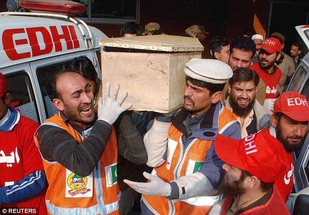 Peshawar school children dead