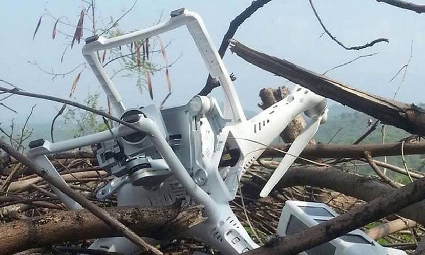 indian spy drone