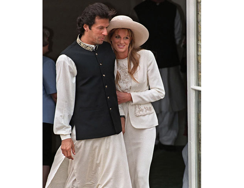 jemima goldsmith and imran khan