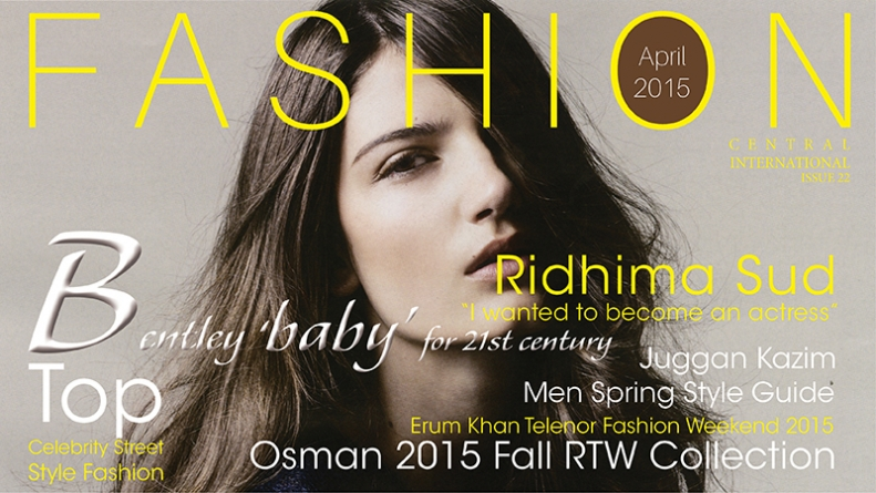 Fashion Central International Monthly Magazine Issue 2015