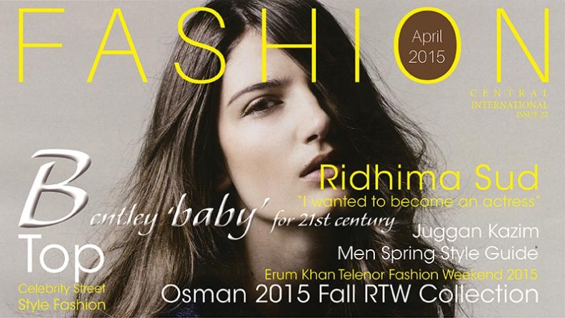 Fashion Central International Monthly Magazine Issue 2015