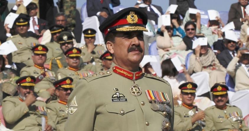 Raheel praises army shooters' marksmanship