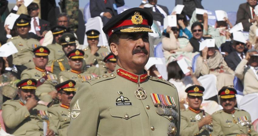 pak army head