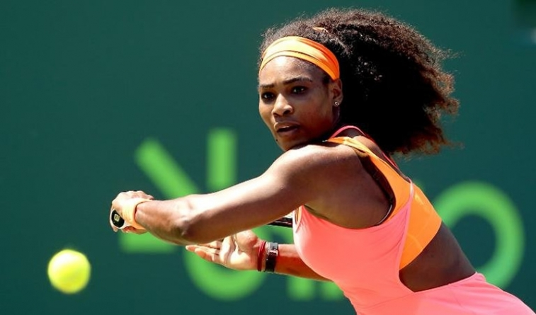 Serena Williams Beats Lisicki for 700th Match win, Miami Open Semifinal